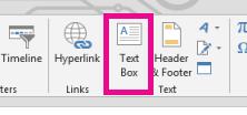 Click Text Box.