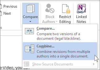 how to combine two word documents into one mac