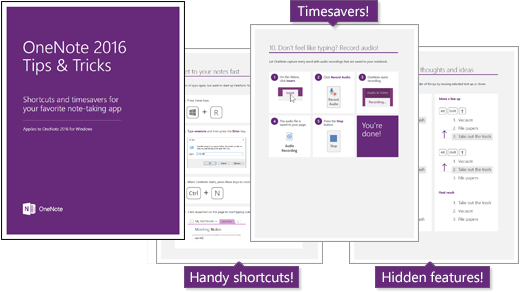 eBook: OneNote 2016 Tips and Tricks