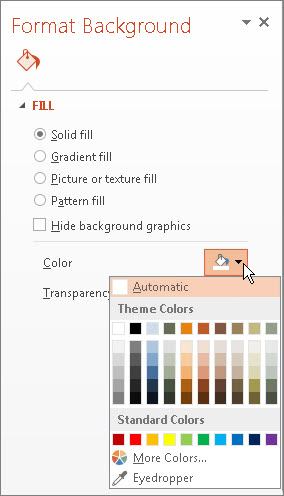 How To Edit A Powerpoint Template | Format The Background Color Of Slides Powerpoint