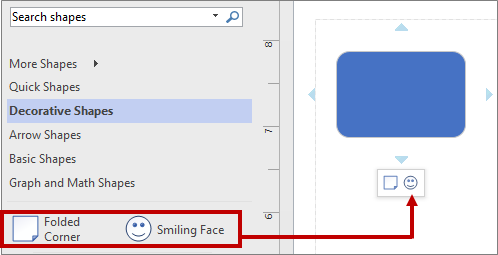 The mini toolbar using a different stencil by reordering