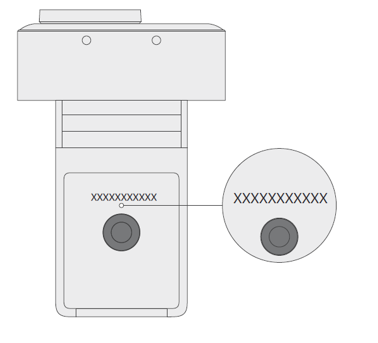 Microsoft Modern Webcam with serial number