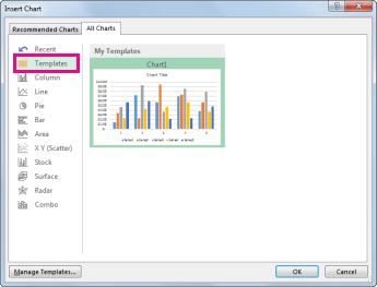 Save a custom chart as a template office support the templates folder on the all charts tab in the insert chart dialog box toneelgroepblik Gallery