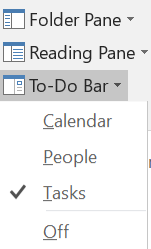 Select To-Do Bar