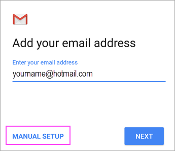 Set up email in Android email app - Office Support