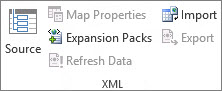 XML Refresh Data