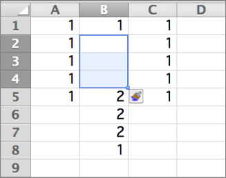 Insert one or more rows, columns, or cells in Excel for Mac - Excel for Mac