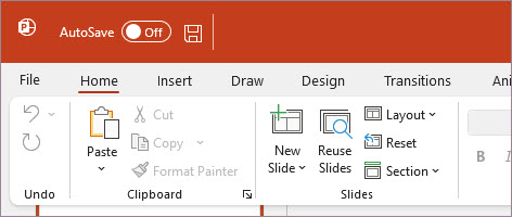 PowerPoint using Colorful theme