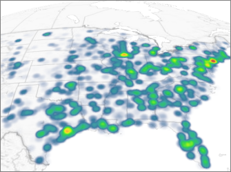 Show A Heat Map In Power Map Excel - Us-heat-map-excel