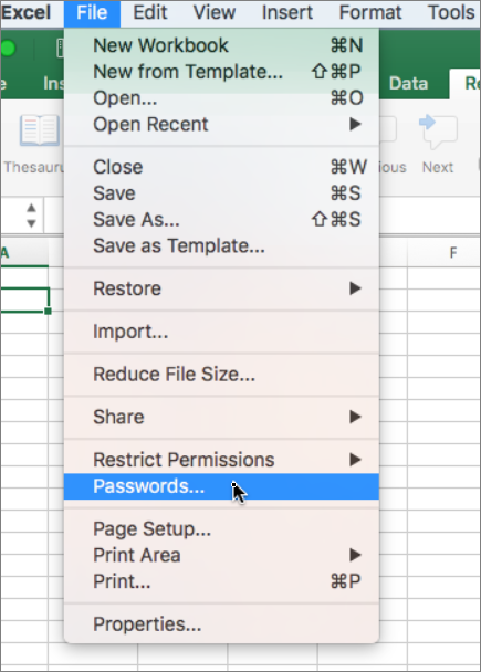 how to make an excel file read only in office 365