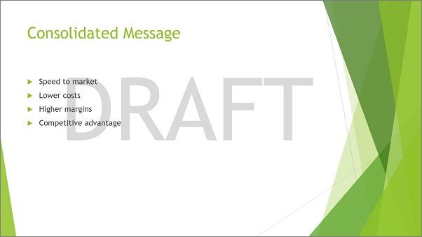 how to get rid of draft watermark in word