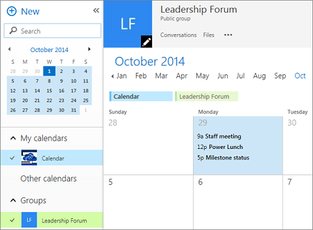 Schedule a meeting on a group calendar in Outlook - Outlook