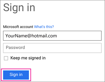 Sign into the OME Viewer