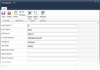 InfoPath list forms for SharePoint