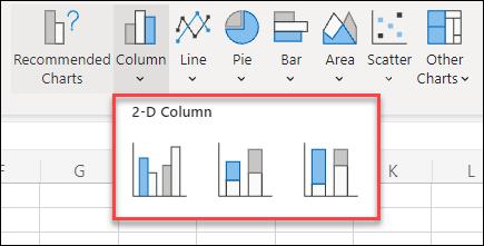 Chart Sub Types