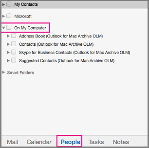 "People tab with ""On my computer"" highlighted"