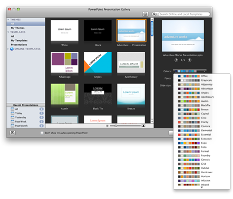 PowerPoint Presentation Gallery