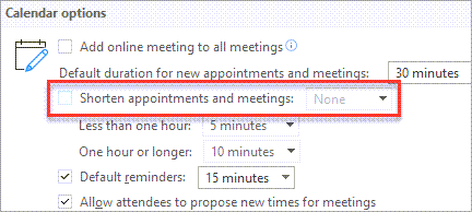 Start meetings late
