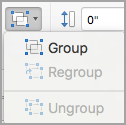 Group objects