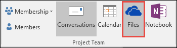 Group Files in Outlook