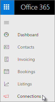 Go to Connections in the left nav in the Business center dashboard