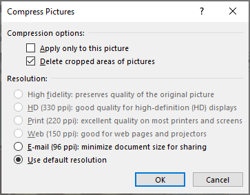 Compress Pictures