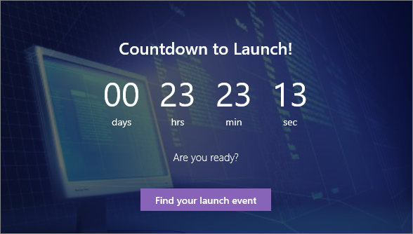 Countdown Timer web part