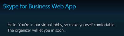 S4B Web Lobby