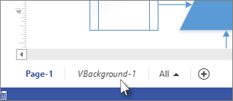 Background tab in Visio - www.office.com/setup
