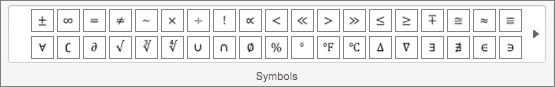 Symbols group