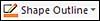 Shape Outline button image
