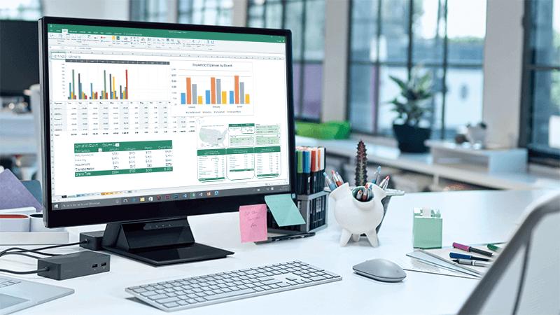 Excel PivotChart