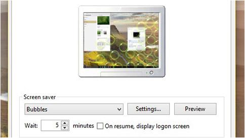 Change Your Screen Saver Settings