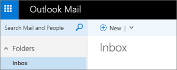 What the new Outlook.com ribbon looks like