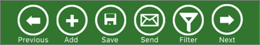 Buttons for primary actions