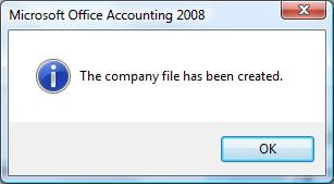 file created