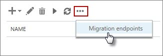 Migration endpoint name