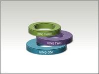 3-D rings