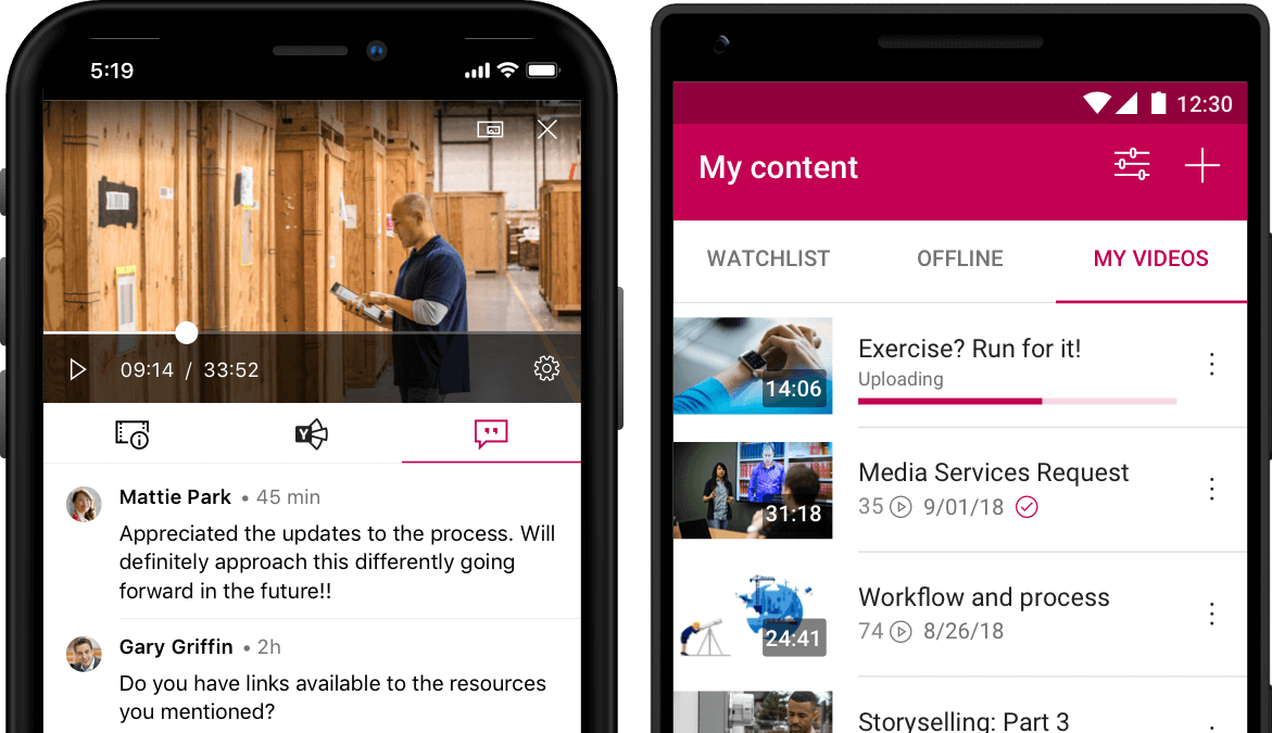Stream mobile app