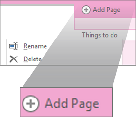 Renaming a page