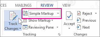 Snippet of Review: Simple Markup interface