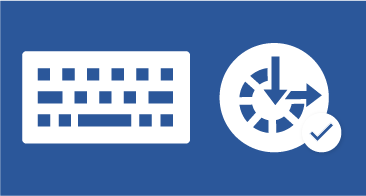 Keyboard and ease of access icon