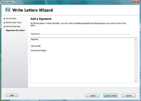 add a signature