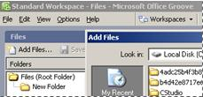 groove file tools