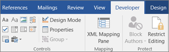 On the Developer tab, in the Controls group, click Properties