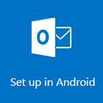 Set up Outlook for Android