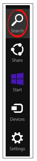 Search from Start Screen