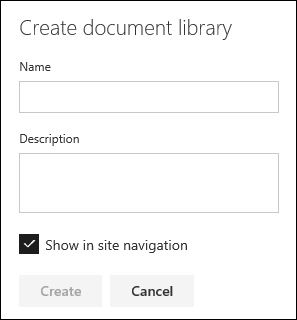 Document Library Details