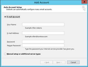 How to set a yahoo email account