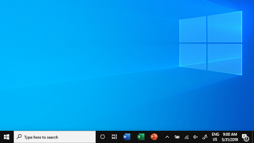 Taskbar in Windows 10